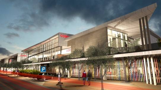 Coles Ipswich CBD Development