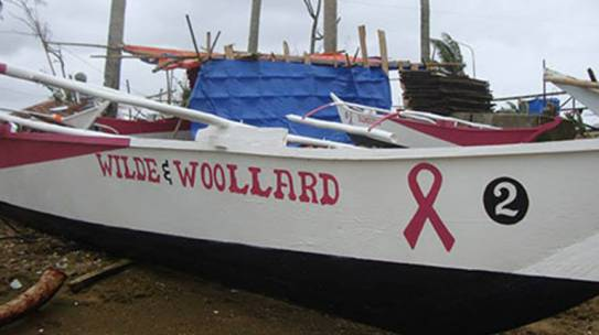 Wilde and Woollard assists in Philippines Recovery