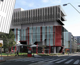 Swinburne University Student Services Hub And Data Centre